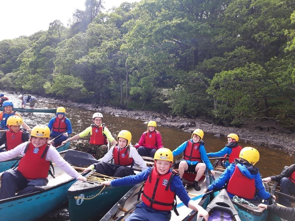 Scouts Kayak Camp